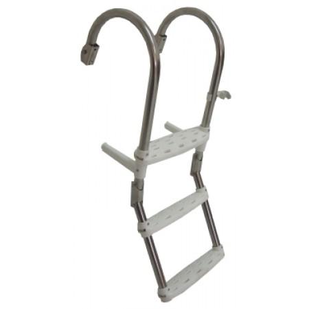 Σκάλα Ανοξείδωτη Καθρέπτη