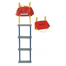 Σκάλα Διάσωσης με αποθηκευτική Τσάντα